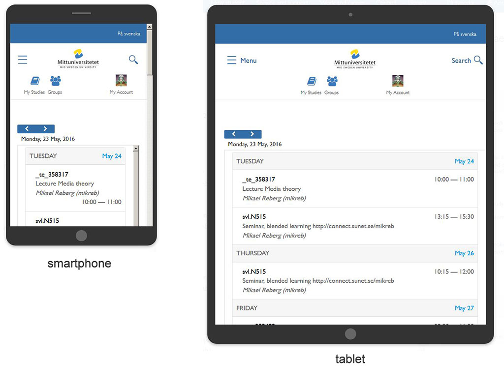Mobile first - a new interface is born - Smartphone & Tablet (1/2)