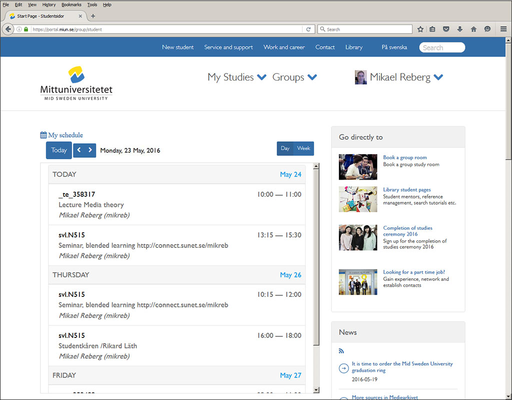 Mobile first - a new interface is born - Desktop (2/2)